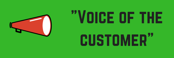 Using 'Voice of the Customer' to drive business improvements.