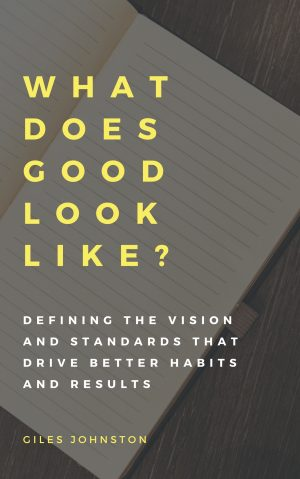 New Book Out Now – What Does Good Look Like?