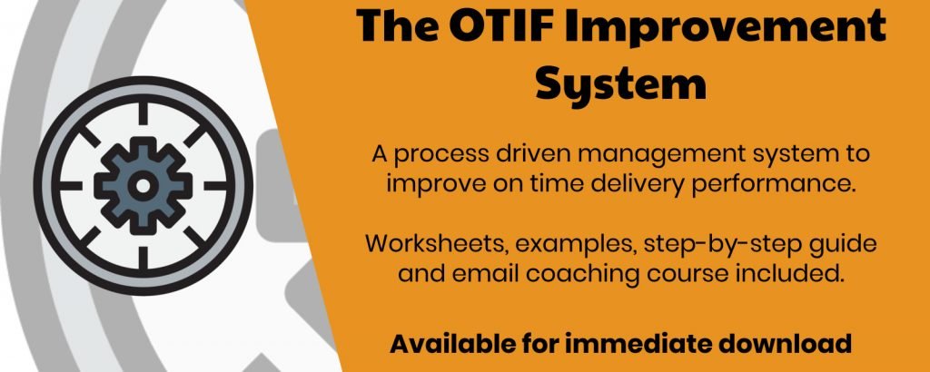 otif improvement system