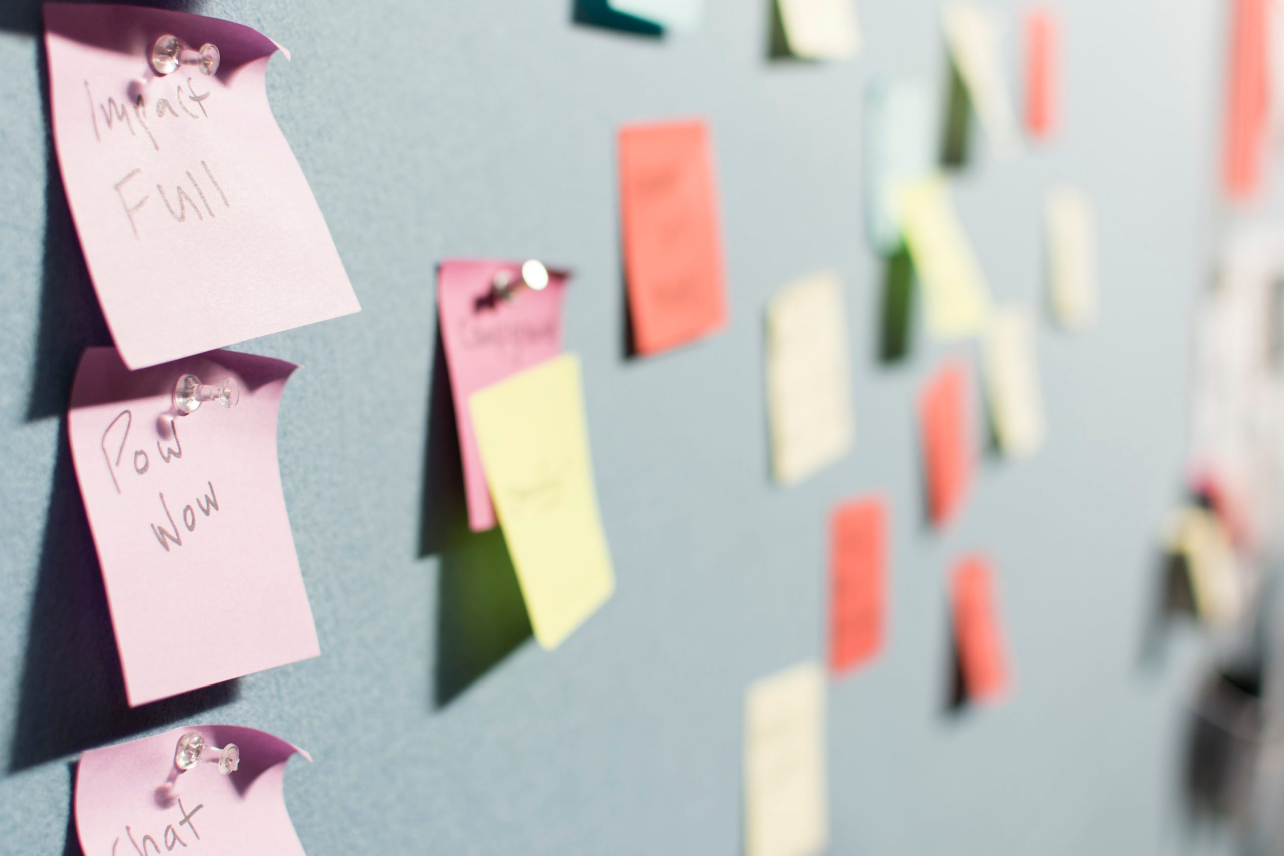 Business objectives: creating a master schedule